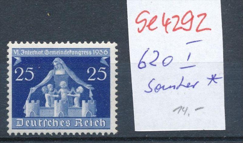 D.-Reich  Nr. 620  I  * (se4292   ) siehe Bild !