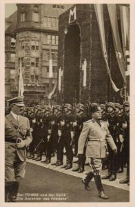 D.-Reich  -Propaganda - Karte -   Stempel-Beleg (ka 591    ) siehe Bild !