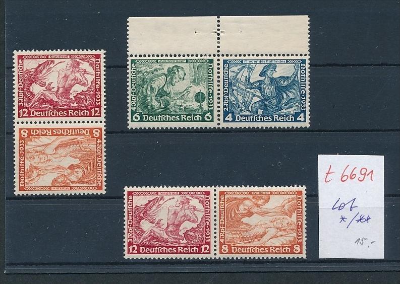 D.-Reich Zusammen Drucke nettes Lot   (t6691    ) siehe Bild !
