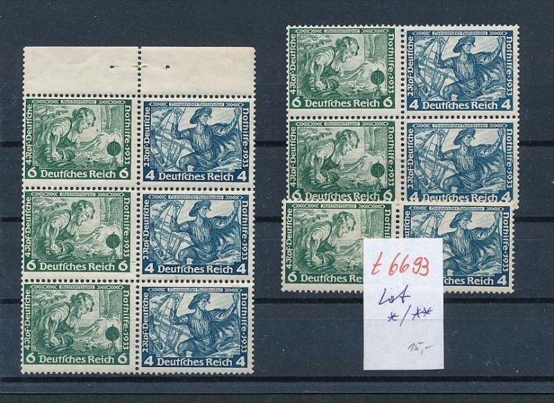 D.-Reich Zusammen Drucke nettes Lot   (t6693    ) siehe Bild !
