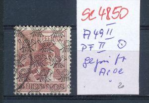 Zonen Nr. A49 II-PLF II  o  geprüft   (se4850  ) siehe Bild !