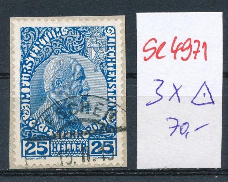 Liechtenstein  Nr.    3x  o ( se4971   ) siehe Bild !