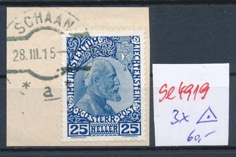 Liechtenstein Nr.  3x  o     ( se4919   ) siehe Bild !