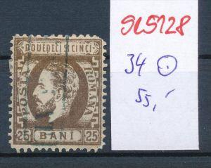 Rumänien  Nr. 34   o ( se5128 ) siehe Bild !
