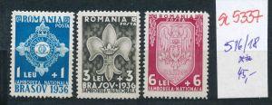Rumänien Nr. 516-18  **   ( se5337 ) siehe Bild !
