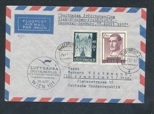 Österreich Luftpost -netter Beleg   ( t5384 ) siehe scan