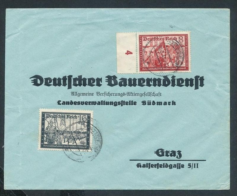DR.-3.Reich -netter Beleg....   ( ze6306  )-siehe scan !!