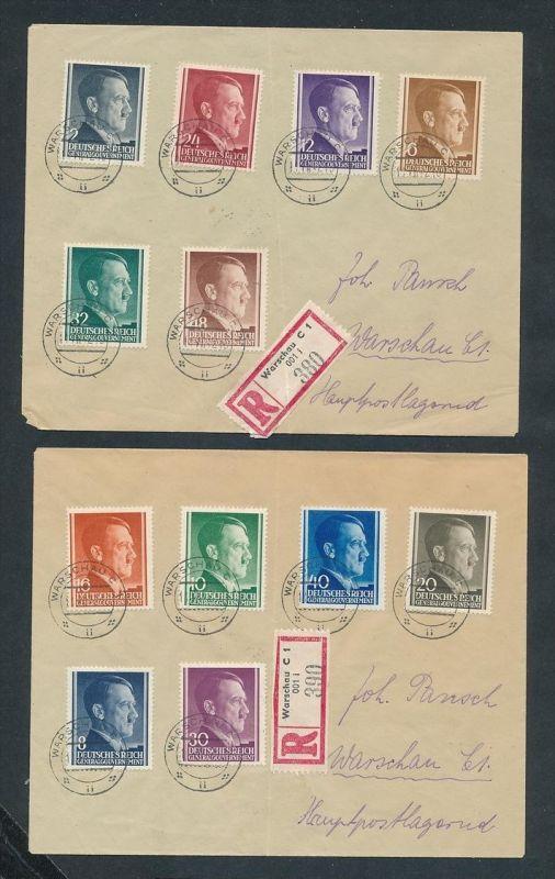 2 Sammler Briefe.  -netter Beleg....   ( ze6002  )-siehe scan !!