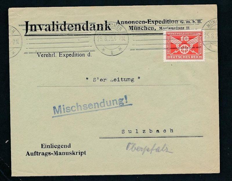 Bedarf-Firmen Post  -netter Beleg....   ( ze6330  )-siehe scan !!