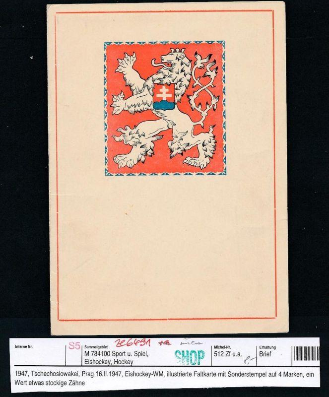 Tschechen Falt Karte.....-netter Beleg ( ze6491  )-siehe scan !!