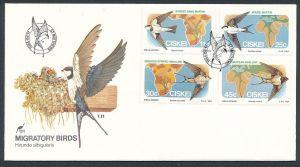 Vögel- Ciskei  FDC ....-netter Beleg ( ze6481  )-siehe scan !!