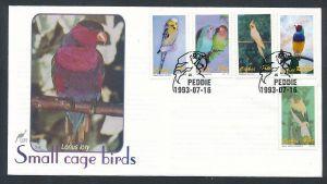 Vögel- Ciskei  FDC ....-netter Beleg ( ze6480  )-siehe scan !!