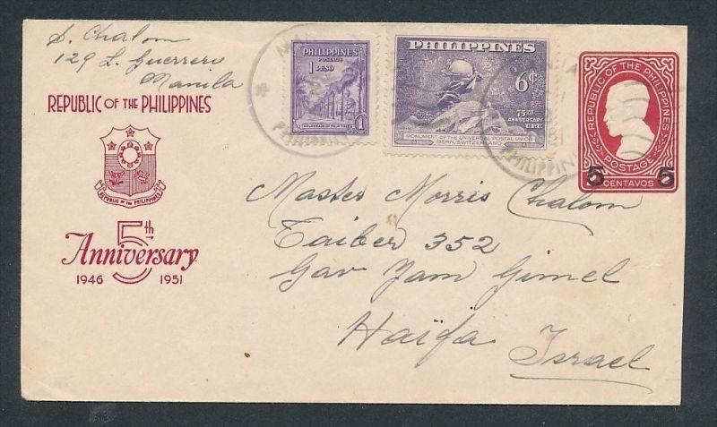 Philipienen Brief  ... netter Beleg  ( t5917 )-siehe scan !!