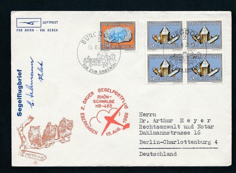 Schweiz Flugbrief...... netter Beleg  ( t5937 )-siehe scan !!