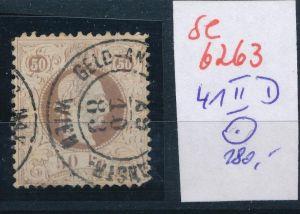 Österreich   Nr.  41 II D  o   ( se6263 ) siehe Foto