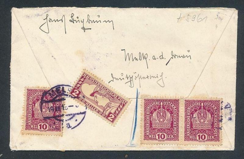 österreich Express Brief Netter Beleg T5961 Siehe Bild