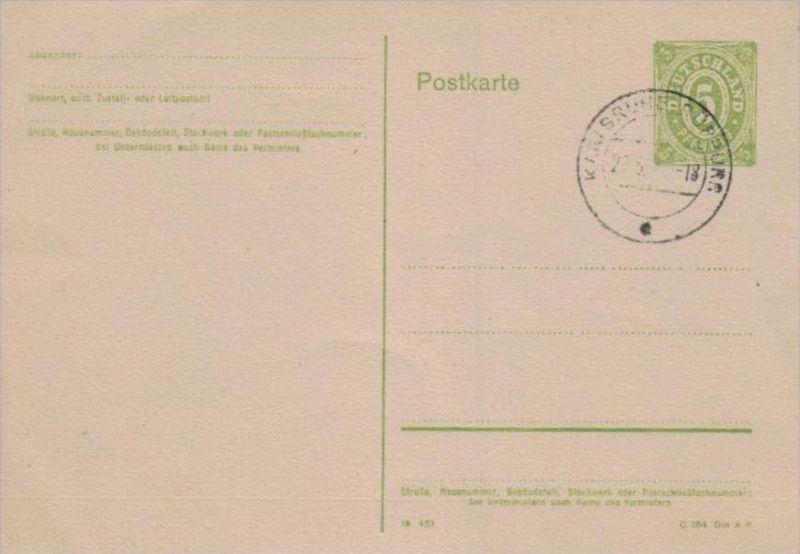 Zonen  GS.Karte  -netter Beleg... .. ( ka1152 ) siehe Bild !