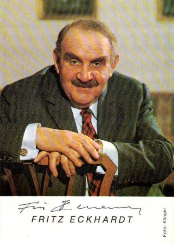 Fritz Eckhardt signiert  Karte ... .. ( k9771) siehe Bild !