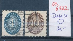 D.-Reich Nr. D130-1   o  (se 6122  )  siehe Bild