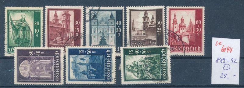 Österreich Nr. 885-92  o (se 6044  )  siehe Bild