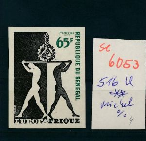 Senegal  Nr. 516  U    ** (se 6053  )  siehe Bild