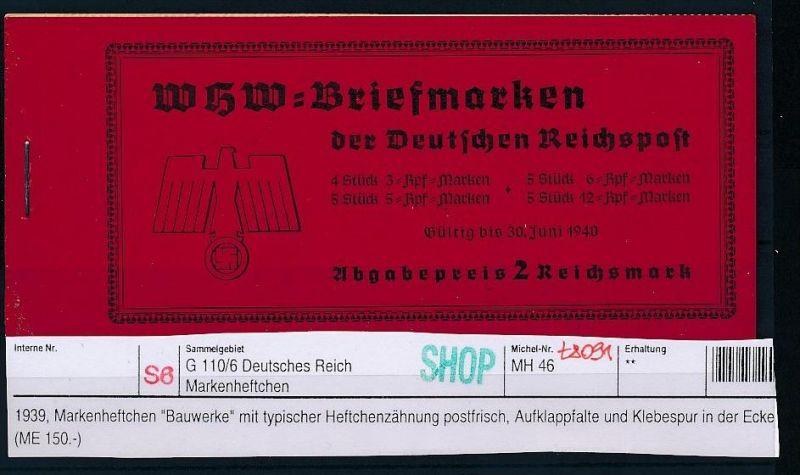 DR  Marken Heft   46  **   (t8091 ) siehe scan !