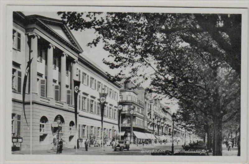 Feldpost Wiesbaden  -Karte   (ka 85 ) siehe scan !