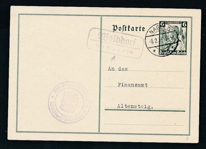 Landpost Stempel...- netter Beleg  ..  (t7028  ) siehe scan !