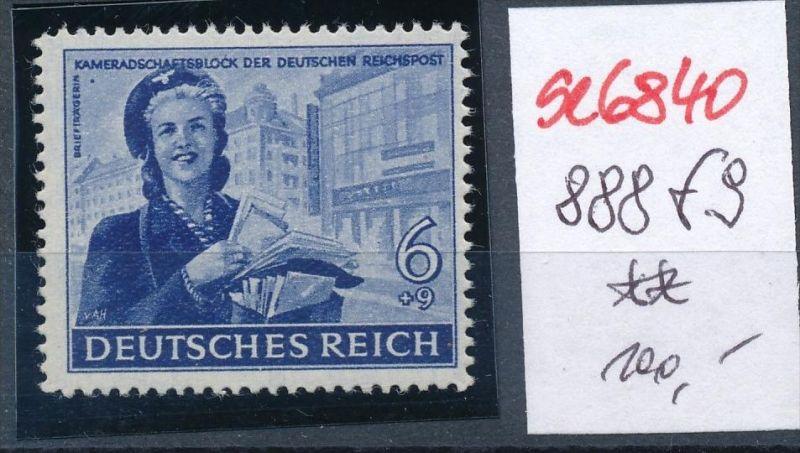 D.-Reich Nr. 888f9  **  (se6840 ) siehe scan !