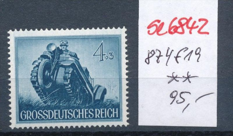 D.-Reich Nr. 874 f19**  (se6842 ) siehe scan !