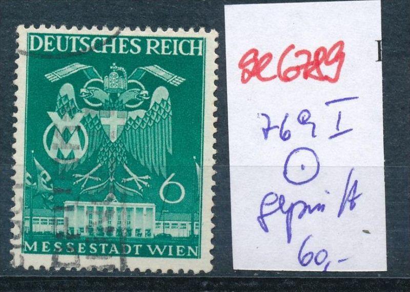 D-Reich Nr.  769 I  geprüft o  (se6789 ) siehe scan !