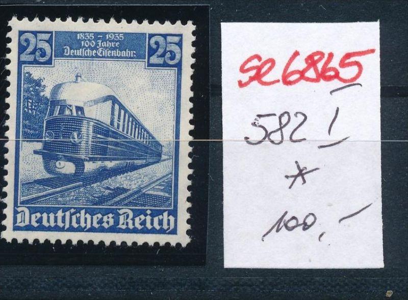 D-Reich Nr. 582  I *(se6865 ) siehe scan !