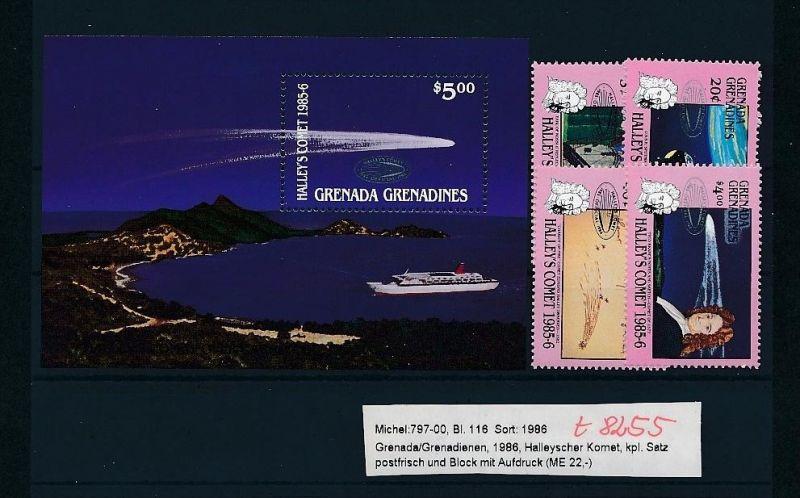 Kosmos - Grenada   Block 116  + Satz **  (t8255   ) siehe scan !
