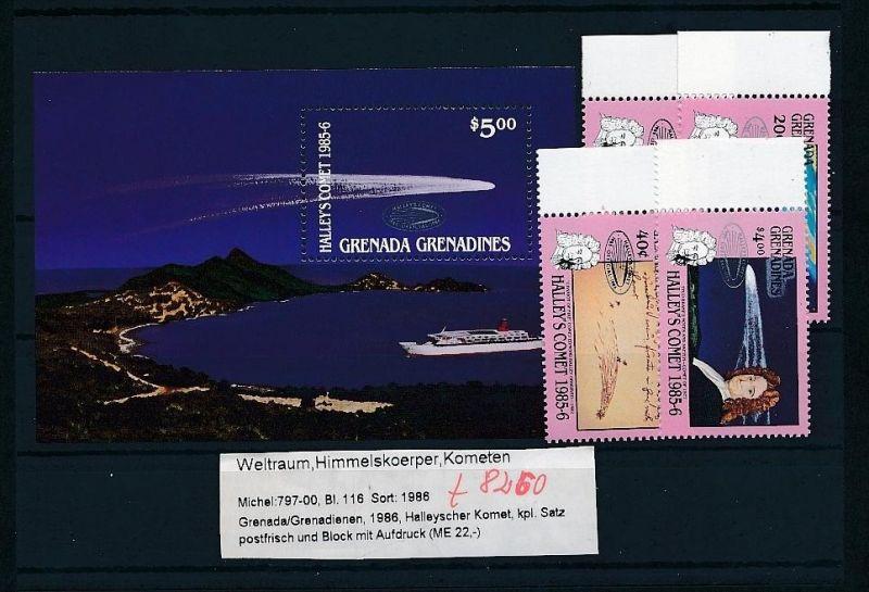 Kosmos - Grenada  Block  116  + Satz **  (t8260   ) siehe scan !