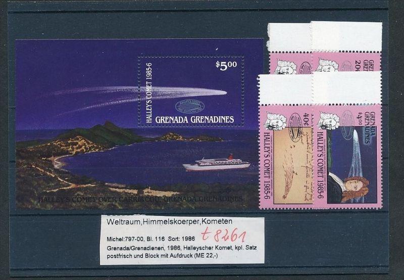 Kosmos - Grenada  Block  116  + Satz **  (t8261   ) siehe scan !