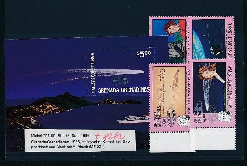 Kosmos - Grenada  Block  116  + Satz **  (t8262   ) siehe scan !