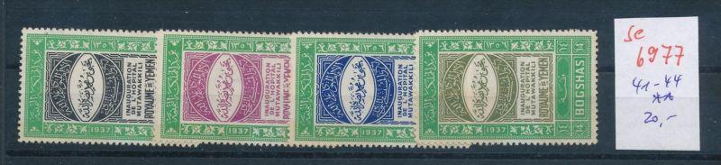 Jemen Nr. 41-44  **  (se6977 ) Zonen Nr. 108-10     o    (se6921   ) siehe scan !