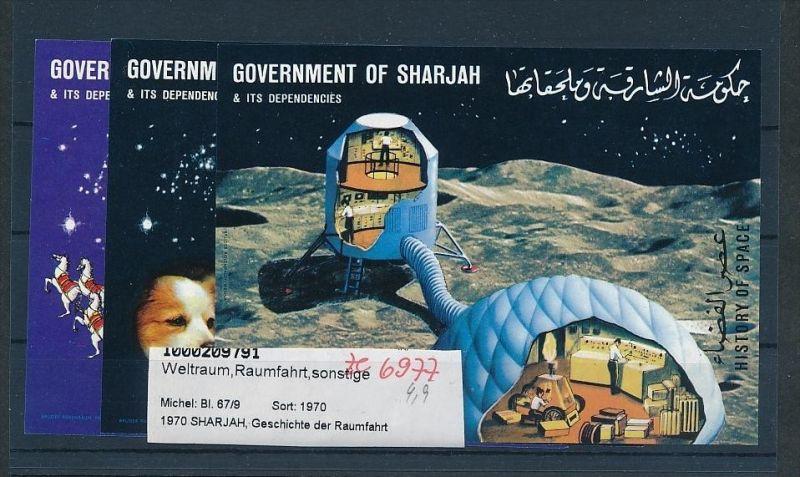 Sharajah  Block67+69     **( ze6977  ) siehe scan !