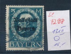 Bayern   Nr. 131 II   o    (se 7298 ) siehe Bild
