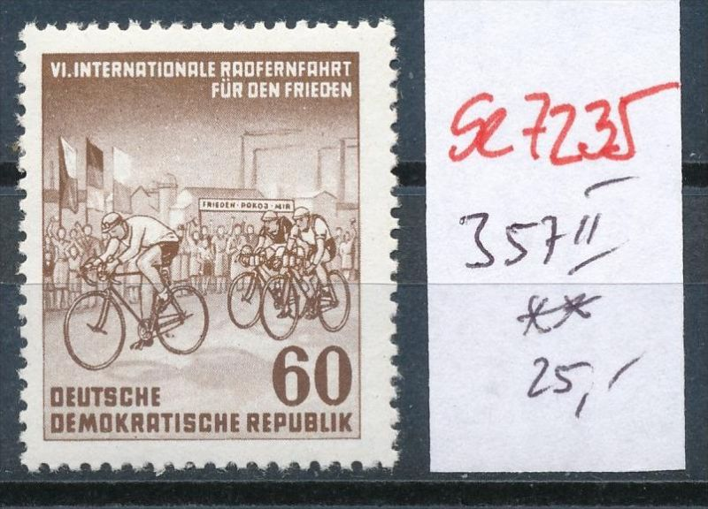 DDR Nr. 357 II    ** ( se7235  ) siehe scan !