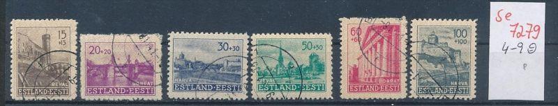 Estland Nr.4-9   o   (se 7279 ) siehe Bild
