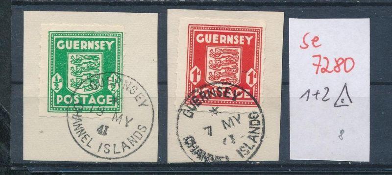 Guernsey  Nr.1+2    o   (se 7280 ) siehe Bild