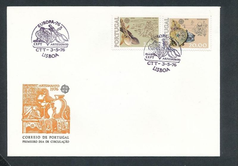 CEPT-FDC  -Portugal 1976  ( t9052 ) siehe scan !