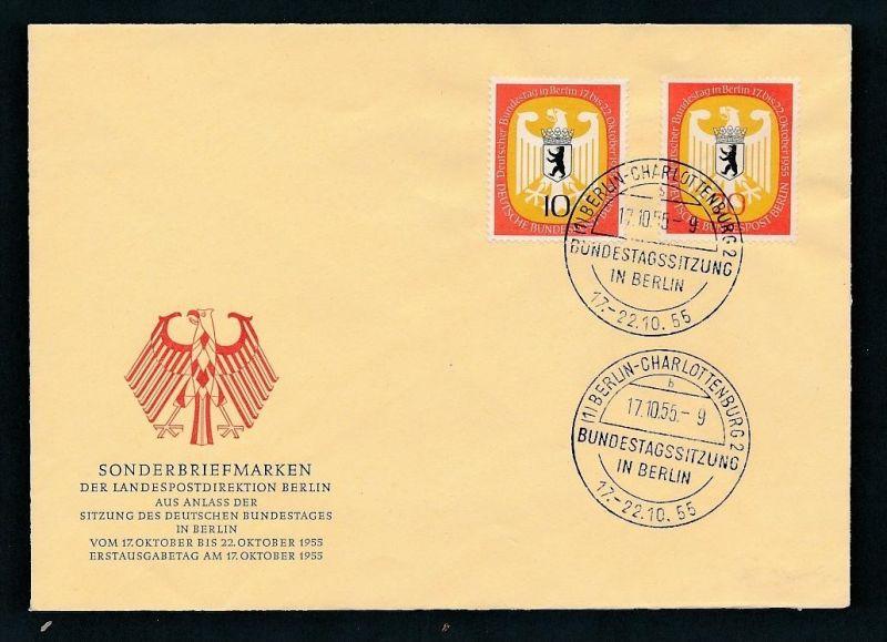 Berlin FDC   129-30  ( t8508) siehe scan !