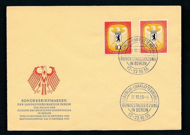 Berlin FDC   129-30  ( t8509) siehe scan !