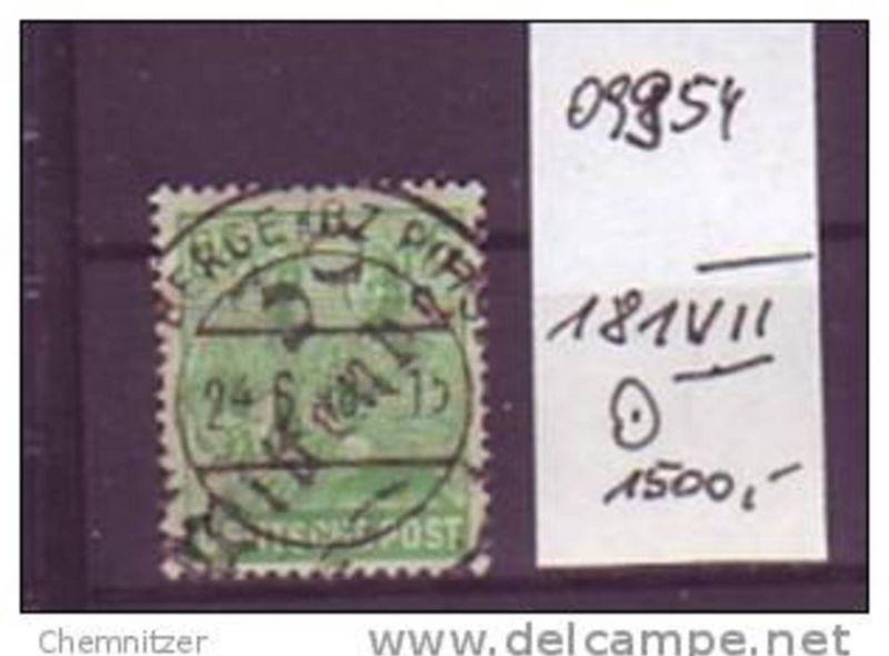 SBZ   Nr. 181 VII   o (o9954  ) siehe scan !