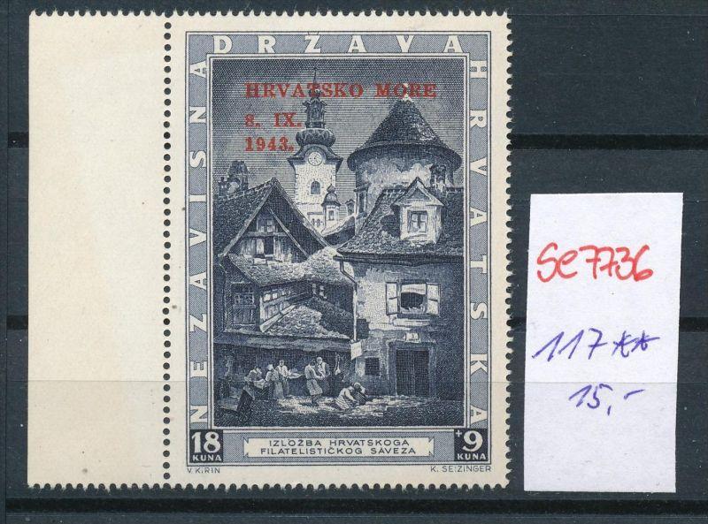 Kroatien Nr. 117   * *  (se7736  ) siehe scan !