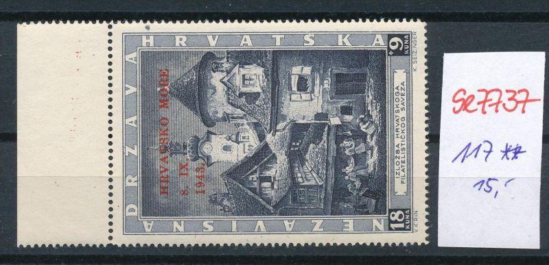 Kroatien Nr. 117   * *  (se7737  ) siehe scan !