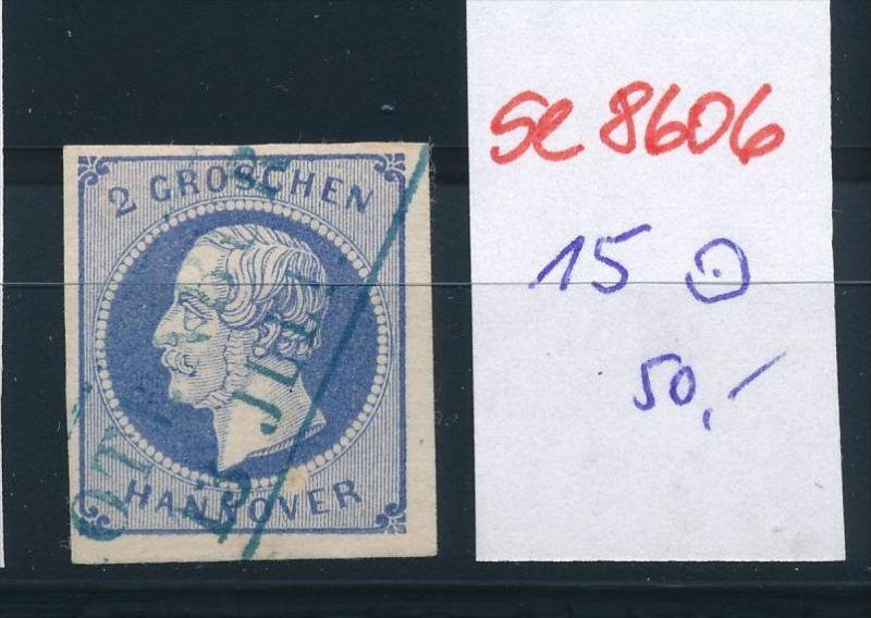 Hannover  Nr. 15    o   (se8606 ) siehe Bild