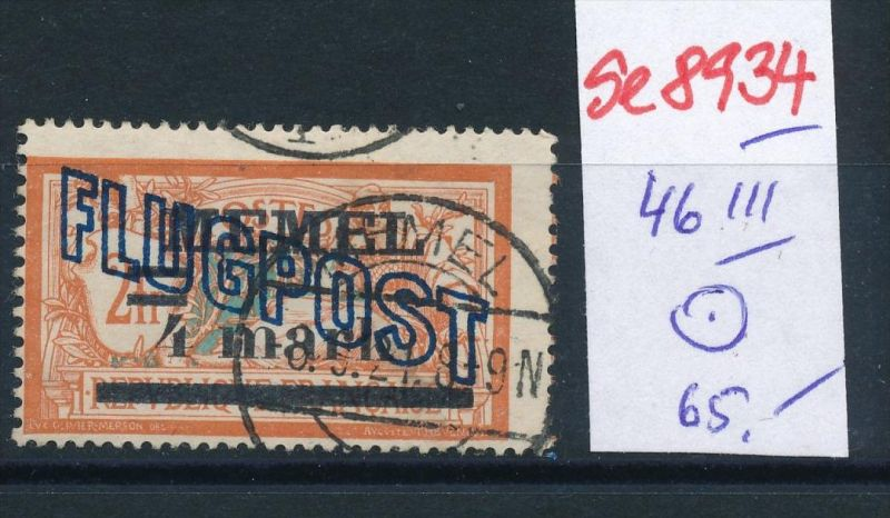 Memel  Nr. 46 III  o  (se8934  ) siehe Bild